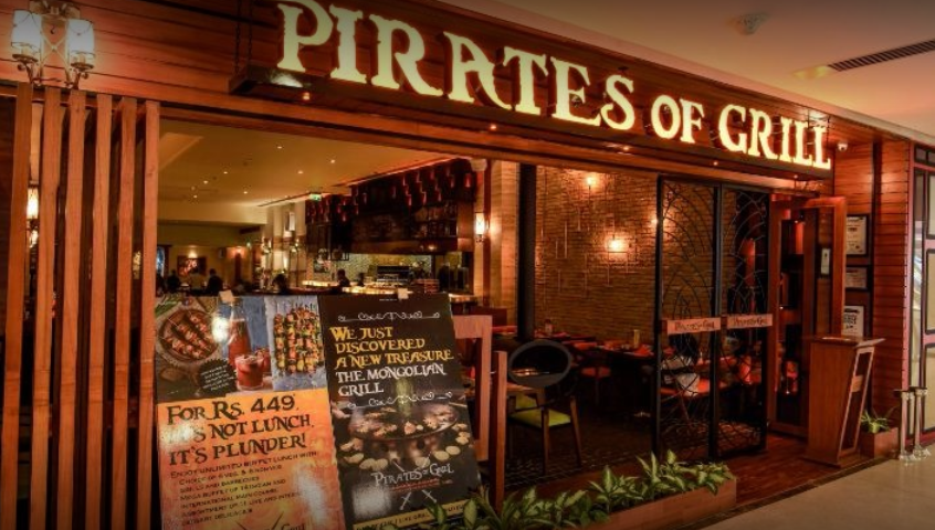 Pirates of Grill, Elante Mall