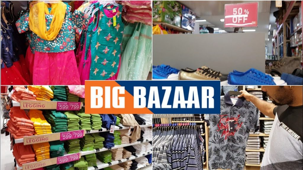 Big Bazaar Elante mall chandigarh