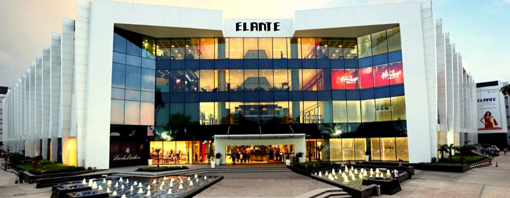 Elante Mall Chandigarh Brands List
