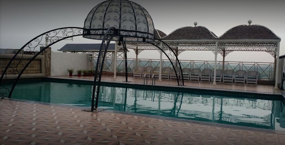 Ramada Plaza Chandigarh Zirakpur pool party