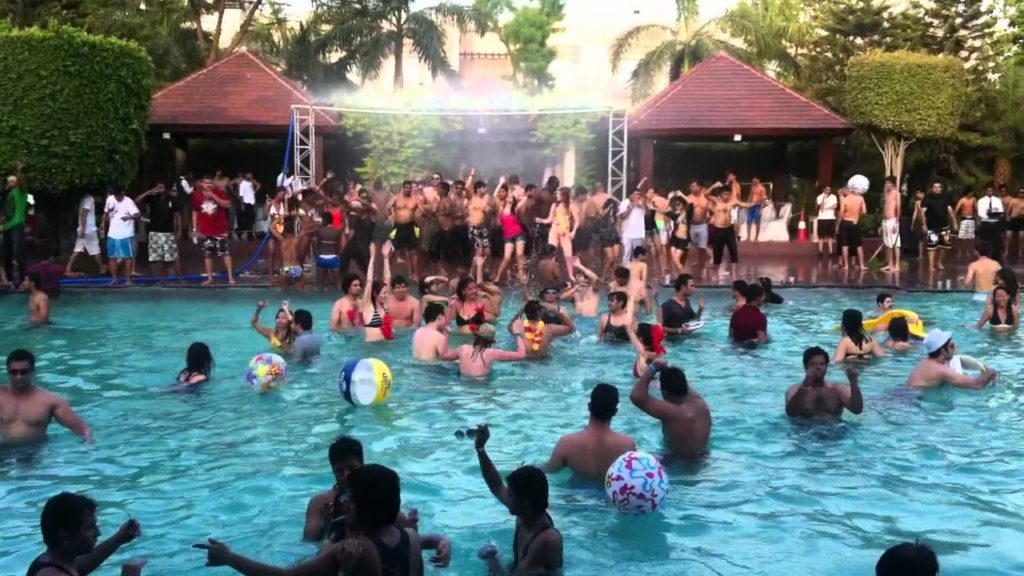 pool party chandigarh