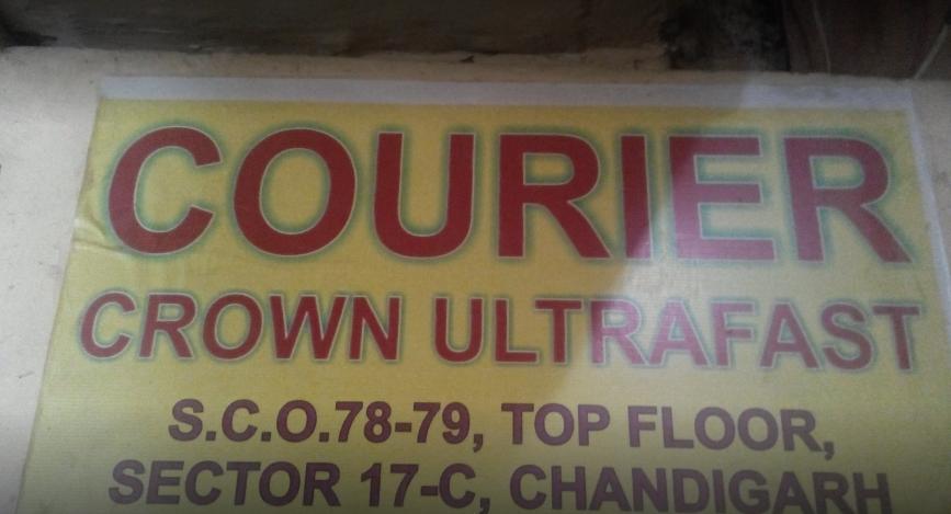 Crown Ultrafast Courier Chandigarh