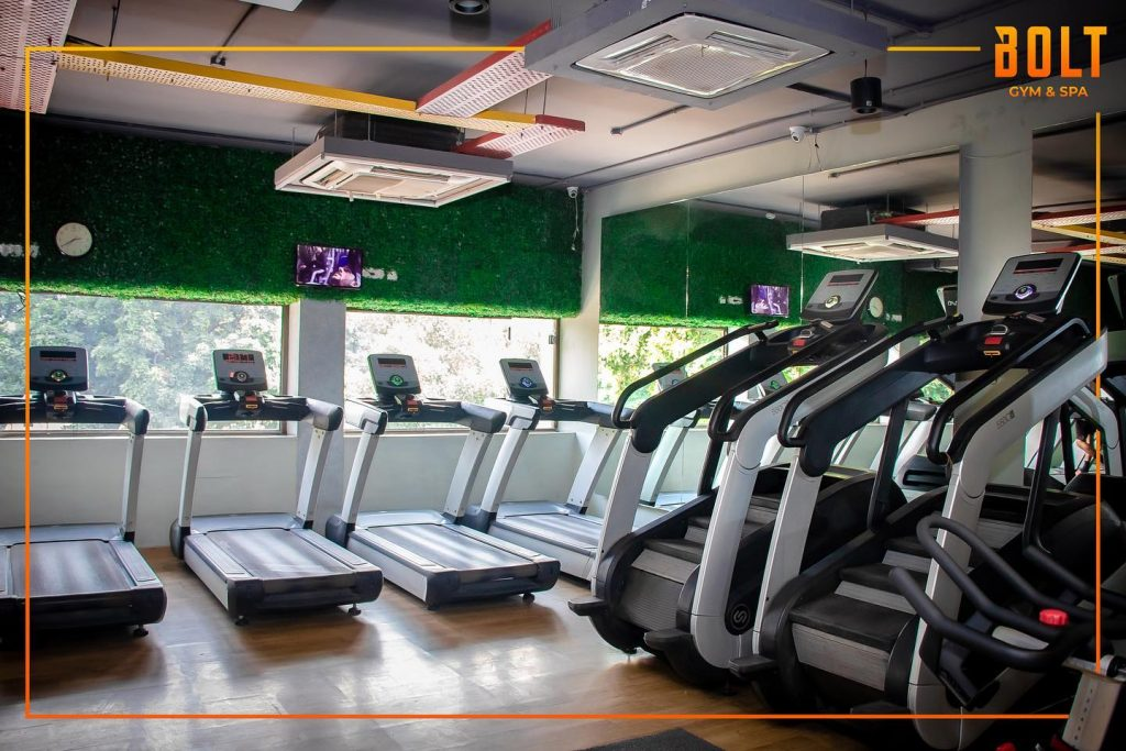 Bolt Gym and Spa chandigarh